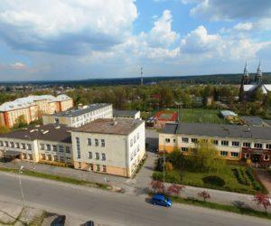 Zespół Szkoł Technicznych w Skarżysku-Kamiennej okiem drona