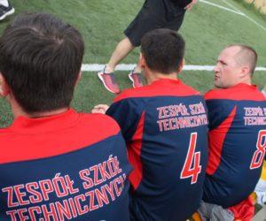 Nauczyciele vs Uczniowie ZST w piłkę nożną