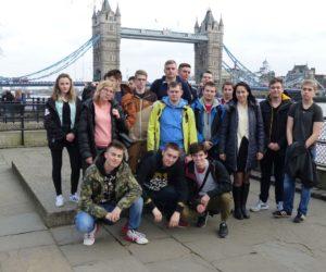 Praktyki uczniów ZST w Anglii