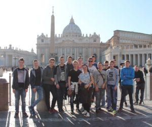Praktyki uczniów ZST we Włoszech w Rzymie