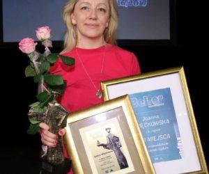 Pani Joanna Więckowska nagrodzona