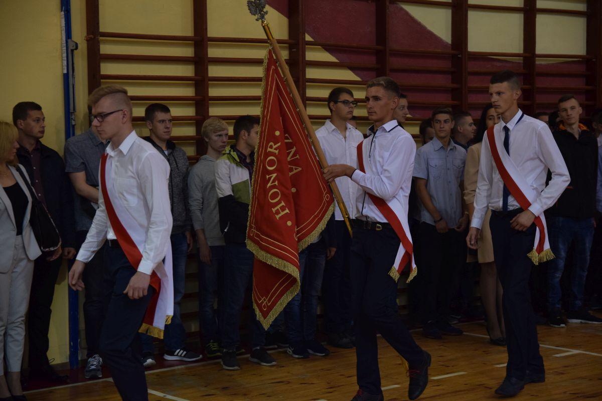 Inauguracja roku szkolnego 2017/2018 w Techniku