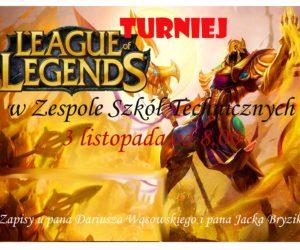 Szkolny turniej League of Legends